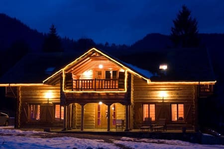 Charming log cabin in mountain area - Chalet