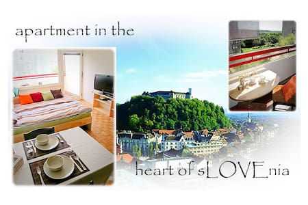 Apartment in the heart of sLOVEnia - Apartment