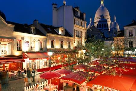 Romantic,sweet studio in Montmartre