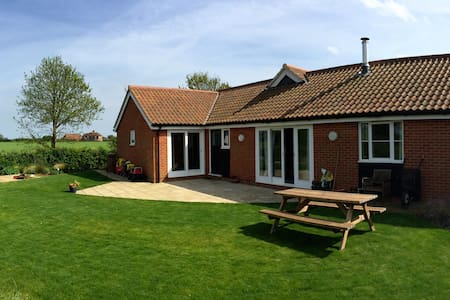 Bawdsey Bungalow on Suffolk Coast - House