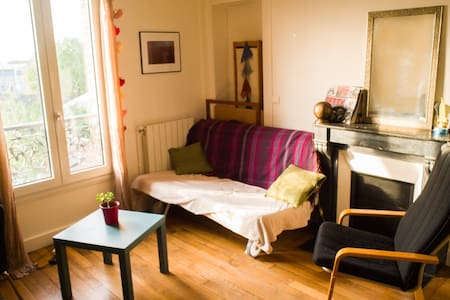3 rooms - 10min from Paris - 55m2