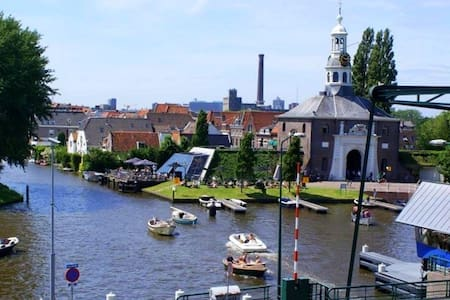 Best view in Leiden! Bright appt - Leida - Appartamento