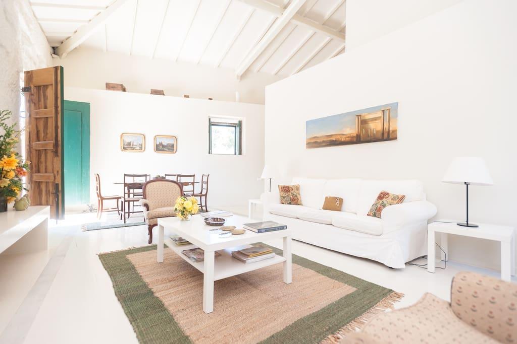 Living Room - Corn House