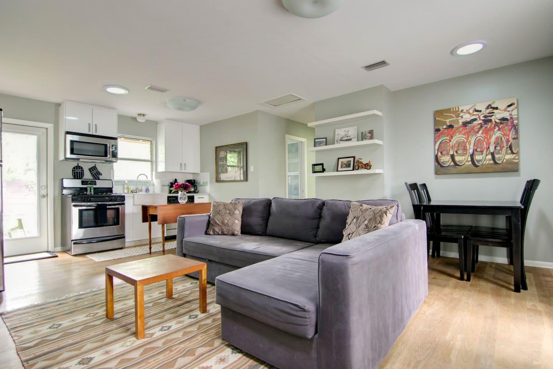 Vintage Modern Home - VERY Central!