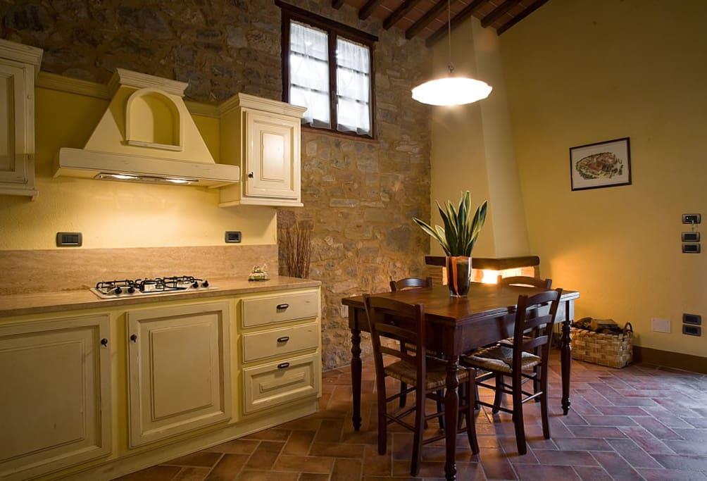 cucina sala