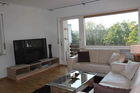 Cosy 2 room Apt, Balcony, Nice View - Appartement