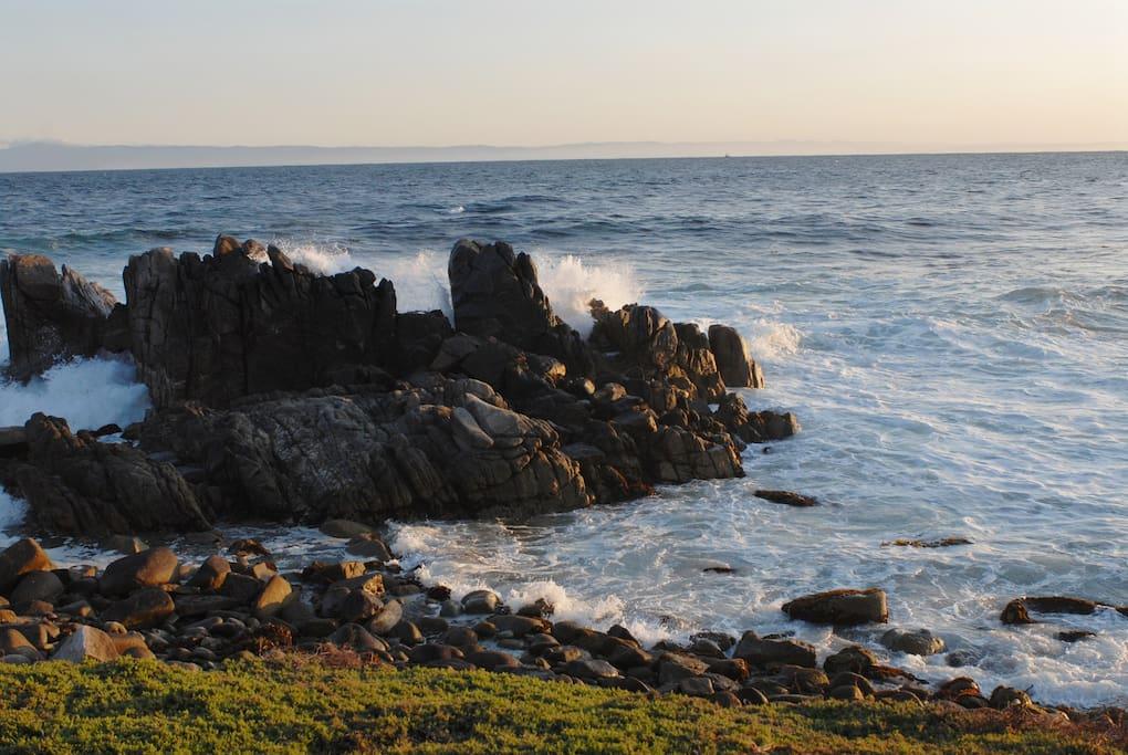 Enjoy a stroll along the Coast