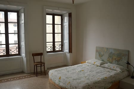Amazing room B w/airport Transfer - Bergamo - Flat
