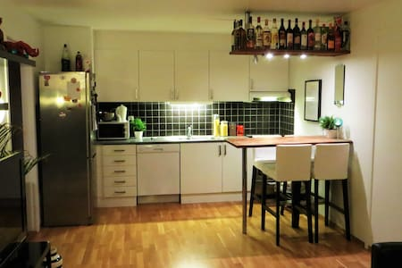 Cosy apartment with balcony and free parking - Trondheim - Huoneisto