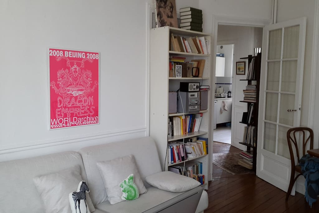 The living room, second time