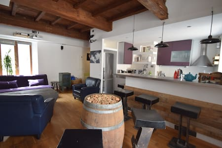 Le Loft Vieille Ville Nancy - Podkroví