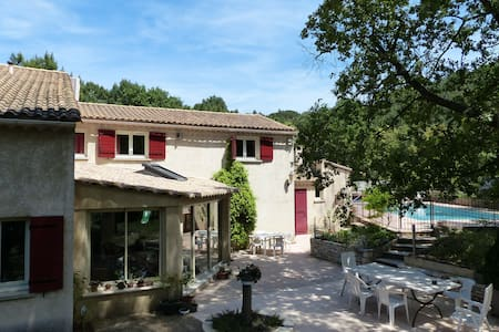Villa avec piscine, 20 km d'Avignon - Saint-Laurent-des-Arbres - Villa