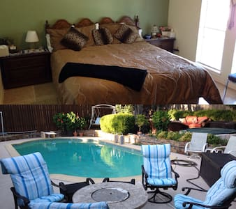 Kingsize bed w/ Private Bath, Pool & Spa. So Nice! - House