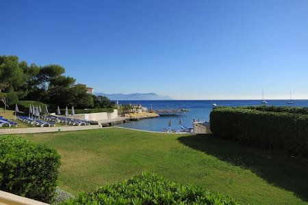 Studio Cap d'Antibes, plage privée - Flat