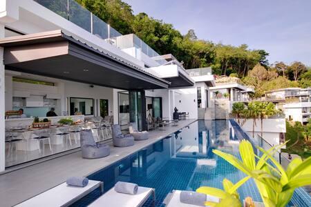 Luxury Villa with Amazing Sea View - Choeng Thale - Villa