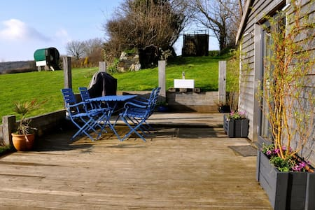 A luxury cabin with an amazing view - Bodmin - Cabaña