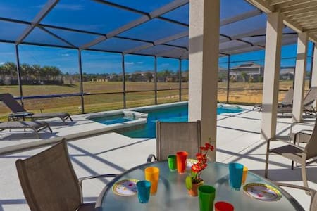 Beautiful warm designer decor, private Pool & SPA - Davenport - Villa