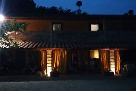 "San miniato Pisa Lucca ""Mandarino"" - Huoneisto"