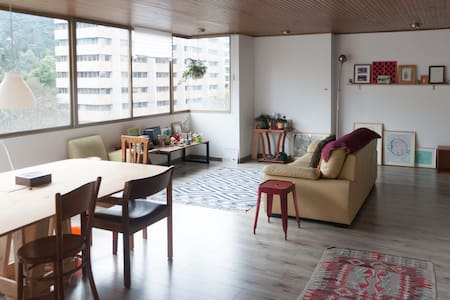 Large apartment, magnificent view.