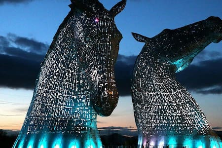 The Kelpies, Central Scotland etc - Falkirk - Huis