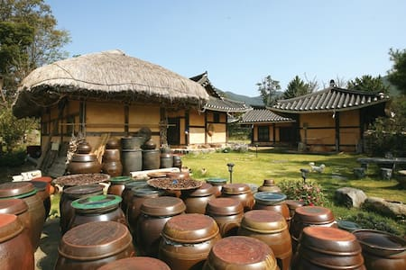 풍덕고택 사랑채, 외암마을의 한옥체험민박 - Songak-myeon, Asan-si