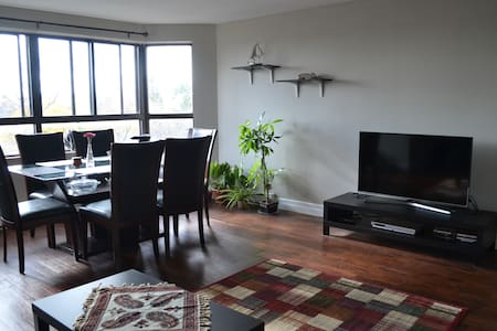 Nice bedroom in a large apartment near Downtown - Kitchener