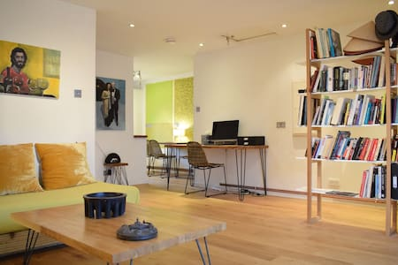 Beautiful Artist's 1 Bed Flat in Limehouse - Londres - Apartamento