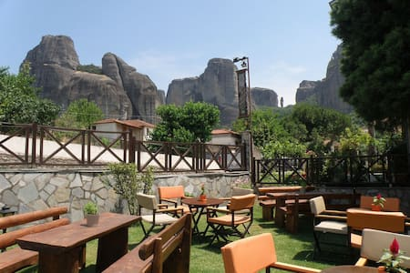 Stonemade cozy room Meteora view - Muu