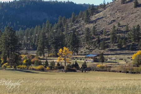 Authentic, cozy  Bunkhouse at Wine Down Ranch - Prineville - Cabin