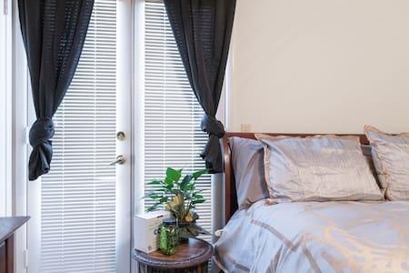 WIFI~DREAM bed private entrance ❤️ - Casa
