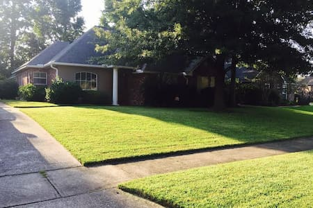 3BR/2BA/Spacious Cozy Home/Close to LSU!!! - Baton Rouge - Casa