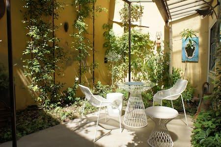 The garden courtyard - Historic center Aix-en-Pce - Aix-en-Provence - Apartment