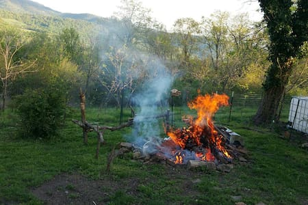Primative camping on 20 acres - Zelt