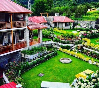 Heaven on Earth...The Amrit Manali - Manali - Casa