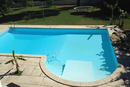 Suite parentale ( chambre-SDB) accès terrasse - Konukevi