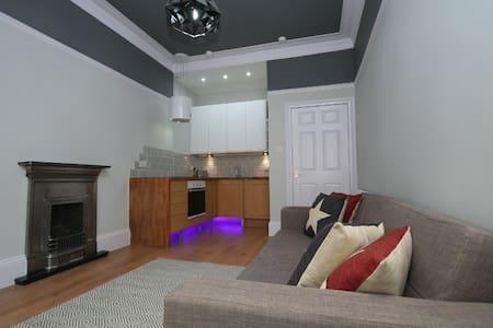Deluxe Dennistoun Apartment - 格拉斯哥