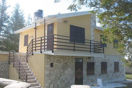 Bellissima villa nel Parco della Majella - Apartamento