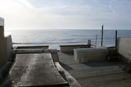 Beautiful Seaside Townhouse on the Beach in Wales - Huis