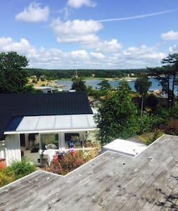 Havsnära sommarhus i Espevik! - Espevik - Haus