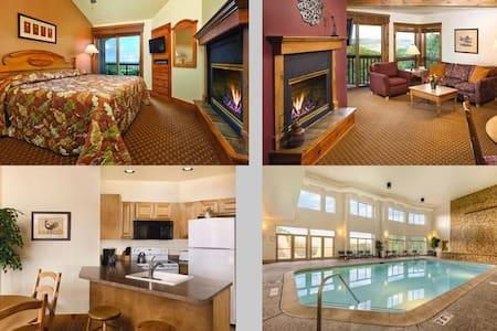 2 Bedroom Wyndham Galena, IL - Galena - Lakás
