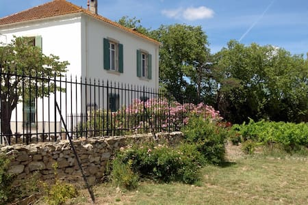 Old French house with swimming pool - Fontcouverte - Ev