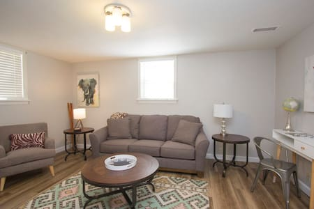 AFRICA Themed Furnished 1 BR Apt in Great Location - Sioux Falls - Apartamento