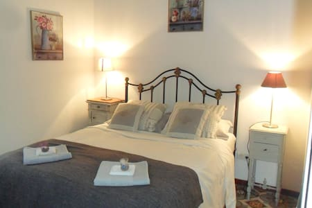 Languedoc Retreat Stone cottage Double room - Roquebrun - Huis