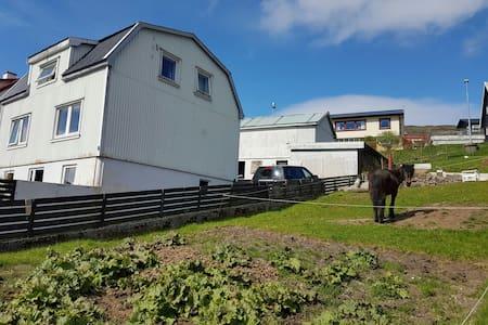 ÁarLon, Faroe Islands, Room no. 1, single bed - Midvagur