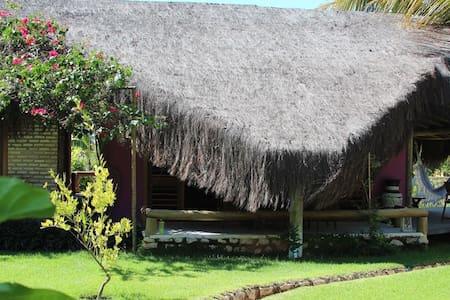 Chalé exótico no Icaraizinho - Casa