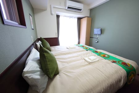 5 min Umeda! Leisure & business room for 2ppl【MC1】 - Flat