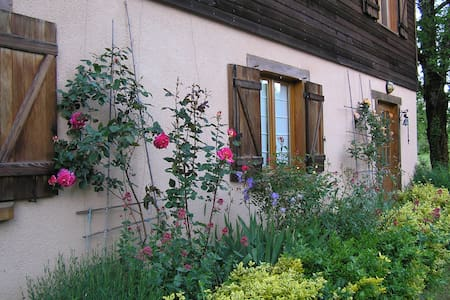 Chambre d'Hôtes N°1 dans maison, pleine nature-Lot - Hus