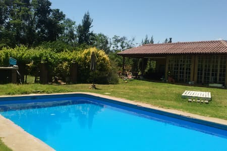 olmue-limache, casa y jardin grande, piscina - Casa