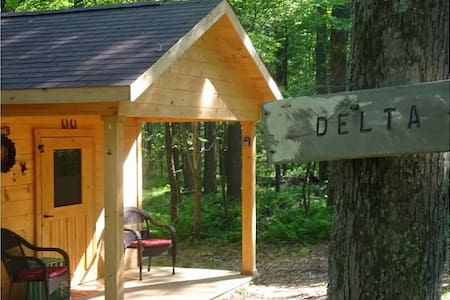 Glamping - Cozy Hut Delta - Chata