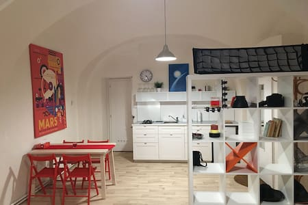Romantic flat in the heart of town - Wohnung
